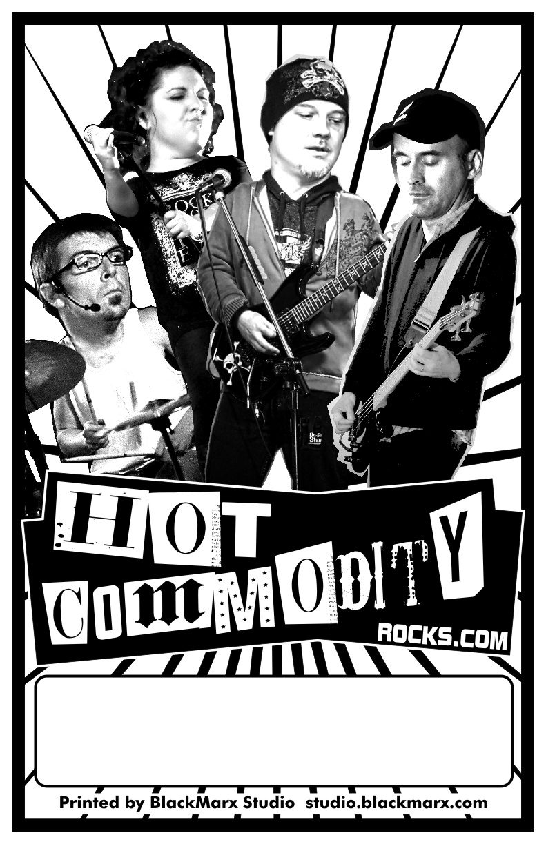 Hot Commodity Band Poster
